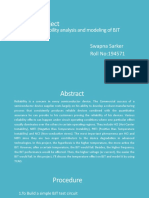 Reliability of BJT Project-ppt.pptx