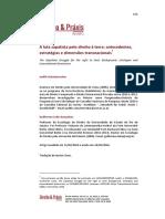 A luta zapatista pelo direito à terra- antecedentes,  estratégias e dimensões transnacionais