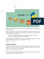 Listas en Python