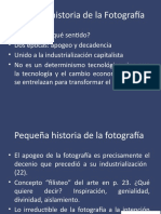 Estética pequeña historia de la fotografía