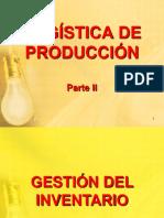 1. LOGISTICA DE PRODUCCION II e