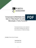 Comparação da Mobiliade Articular, com base no Deep Squat em praticantes de Musculação e Treino funcional