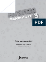 Avanza Matemáticas 3 Bitácora