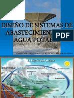 DISEÑO DE SISTEMAS DE ABASTECIMIENTO DE AGUA Y ALCANTARILLADO