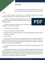 Diseño de Organizaciones y Procesos - Módulo 11 - Apunte de clase