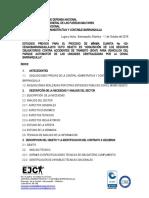 ESTUDIO PREVIO ADQUISICIÓN DE SEGUROS OBLIGATORIOS CONTRA ACCIDENTES DE TRANSITO SOAT (1)