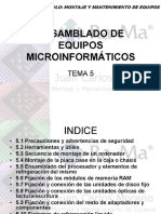 CAPÍTULO 5 - ENSAMBLADO DE EQUIPOS INFORMÁTICOS
