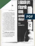 Mario MONTESSORI La educación para el desarrollo humano.pdf
