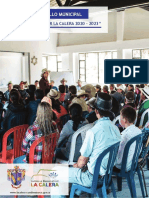 Documento Plan de Desarrollo La Calera