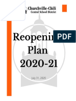 CCCSD Reopening Plans - Outline