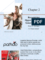 Chapter 2 (Recognizing Opportunities  Generating Ideas)