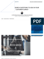 20 Market Research Questions To Ask In Your Customer Survey _ QuestionPro
