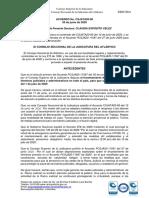Acuerdo aclaracion Acuerdo CSJATA20-80 -horario y turnos de trabajo--