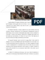 Sintesis -Transporte Por Ferrocarril