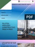 proceso constructivo de pilotes