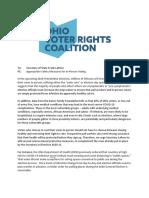 Ohio Voter Rights Coalition