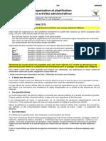 Organisation et planification des activités administratives