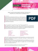 Brief -Convocatoria Diseño Portada Anuario (marzo)