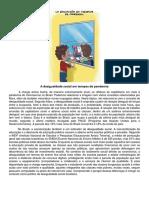 A desigualdade social em tempos de pandemia - Fabíola de Carvalho