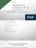 Enfermedades ocupacionales en el sector de construcción civil