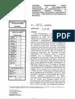 RES EX 3925. Reglamento Penitenciario y Pertinencia Cultural
