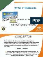 PRODUCTO TURISTICO ESTRUCTURA