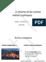 Le métamorphisme et les roches métamorphiques.pdf