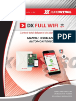Manual Dx full wifi - Automonitoreo