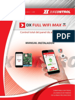 Manual Dx Full Wifi Max - Monitoreo