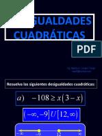DES CUADRATICAS