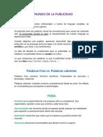 EL MUNDO DE LA PUBLICIDAD