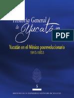 AA.vv. - Historia General de Yucatan. Vol. 5 [2014]