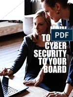 How to Sell Cyber Security To Your Board
