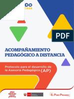 Protocolo Para El Desarrollo AP