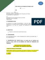 ENCUENTRO VIRTUAL DE PADRES DE FAMILIA 2020