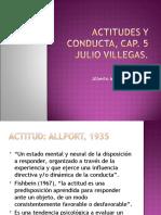 ACTITUDES Y CONDUCTA, CAP