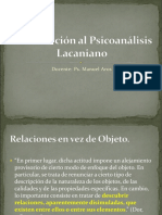 Introducción al Psicoanálisis Lacaniano.UST