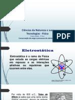 1 - Conservação da carga, processos de eletrização e lei de atração e repulsão (1)