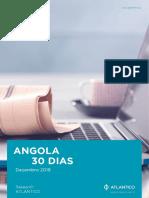 Angola 30 dias Dezembro de 2019