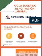 Protocolo para reactivación Sector Repuestos