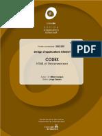 CODEX HTML et Dreamweaver