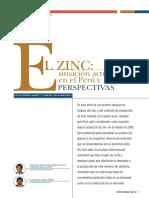 zinc en el Peru
