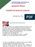 Introducción al Curso de Legislación Minera