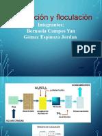 mejorado coagulacion y floculacion