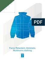 EN11 - Flame retardant, Antistatic, Multinorm clothing