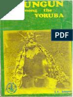 S.O Babayemi - Egungun among the Ọ̀yọ́ Yorùbá