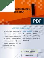 ESTRUCTURA DEL ESTADO - Presentación.