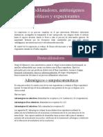 broncodilatadores, antitusígenos y expectorantes