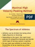 Sub_Maximal_High_Velocity_Peaking_Method_Revised afsm.pdf