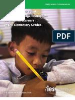 Effective Literacy IES Practice Guide